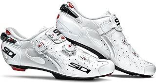 Sidi Wire Push Cycling Shoe - Men's Vernice White, 40.5