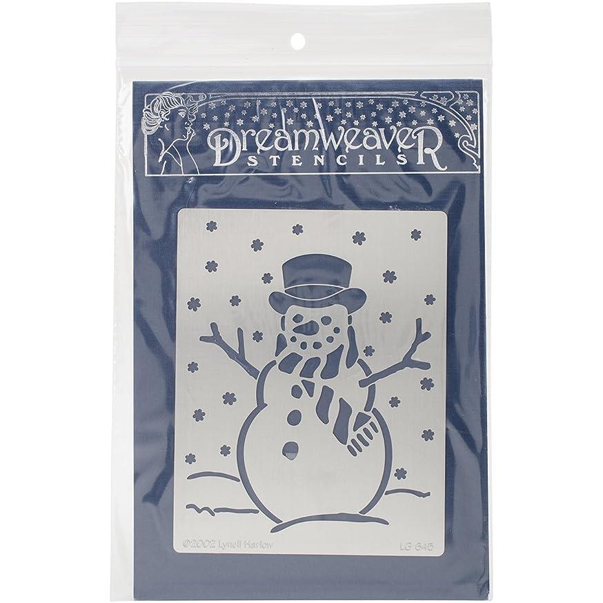 Stampendous Dreamweaver Metal Stencil, Snowman