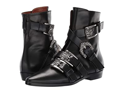 Etro Buckle Boot (Black) Women