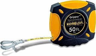 Komelon 9905 Gripper Closed Case Long Steel Tape Measure, 50-Feet