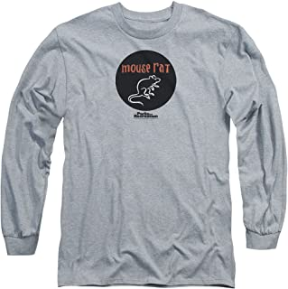 Parks and Recreation Comedy Series Mouse Rat Band Logo Adult Long-Sleeve T-Shirt