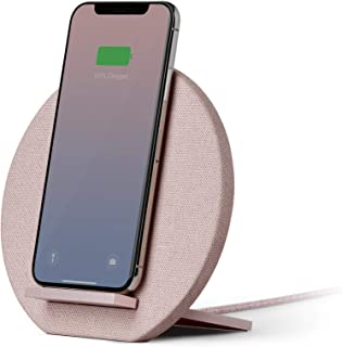 Native Union Dock Wireless Charger Stand - High Speed [Qi Certified] 10W Versatile Fast Wireless Charging Stand - Compatib...