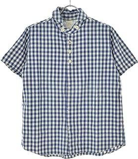 (カイセイドウ) 快晴堂 ギンガムチェック柄 半袖シャツ