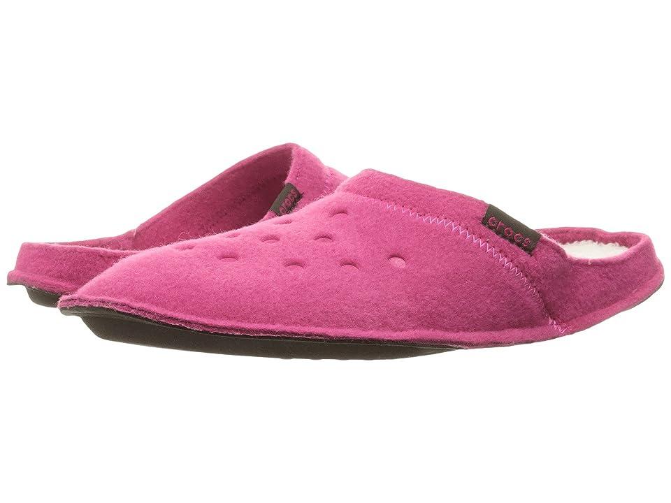 dd3958f4a5df Crocs Classic Slipper (Candy Pink Oatmeal) Slippers -  3627518 Men s 9 Women s 11 Medium by Crocs