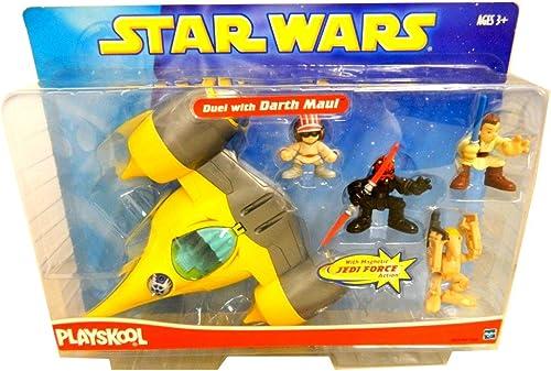 Star Wars Galactic Heroes Playskool Duel avec Dark Maul