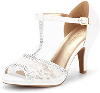Women's Amore Fashion Stilettos Open Toe Pump Heel Sandals