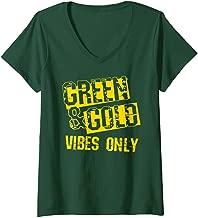 green gold shirt