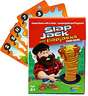 Continuum Games - Slap Jack Flap Jacks Card Game, Fun for Kids Age 4 and Up