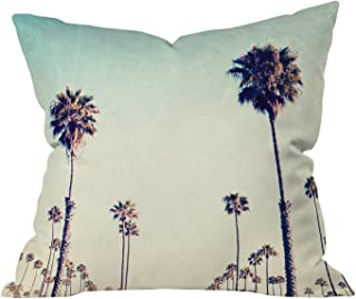 "Deny Designs Bree Madden Retro Summer Outdoor Throw Pillow, 16"" x 16"""