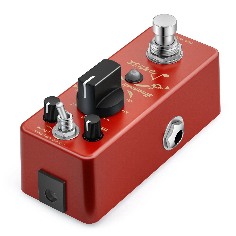 Donner Digital octava Guitarra Pedal de Efectos Harmonic Square 7 ...