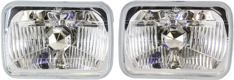 新品 Evan-Fischer Headlight Assembly ショッピング Compatible with Jeep W 1987-1995