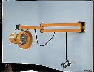 """Wesco Industrial Products 272224 Heavy Duty Steel Dock Light, 24"""" Arm"""