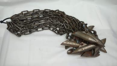 Southern Snares and Supply (12 Pack) Trapping Super Stakes with #3 Chain Heavy Duty Earth Anchor 18