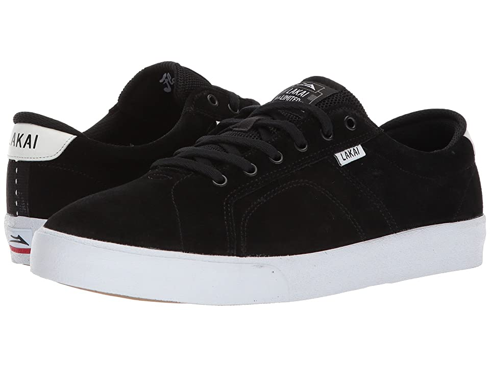 Lakai Flaco (Black/White Suede 1) Men