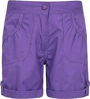 Mountain Warehouse Pantalón Corto Shore para niños - Pantalón Corto de algodón 100% para niños, pantalón Corto para Vacaci...