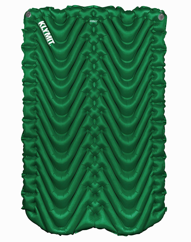 Klymit Double V colchoneta inflable / alfombra para acampar, ir de ...