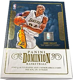 2017/18 Panini Dominion NBA Basketball HOBBY box (6 cards)