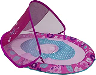 SwimWays Baby Spring Float Sun Canopy - Pink Bird