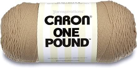 Caron One Pound Solids Yarn - (4) Medium Gauge 100% Acrylic - 16 oz - Lace - For Crochet, Knitting & Crafting