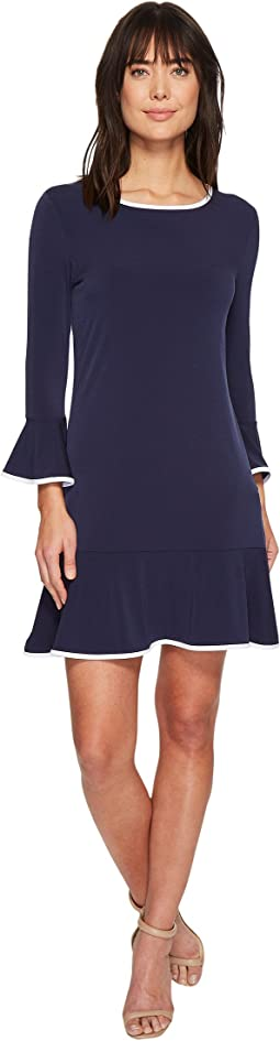 MICHAEL Michael Kors - Solid Flounce Dress