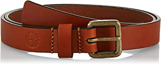 Timberland womens Casual Leather Belt For Jeans Belt