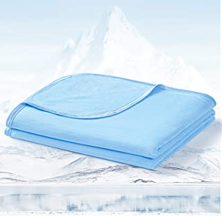 LUXEAR Cooling Blanket for Sleeping, Double-Sided Lightweight Summer Blankets for Hot Sleepers, Oeko-TEX Certificate, Japa...