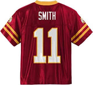 Outerstuff Alex Smith Washington Redskins #11 Red Youth Home Player Jersey