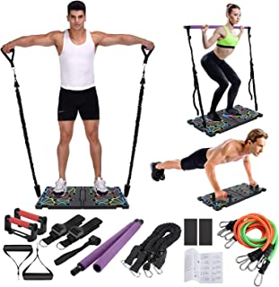 O-CONN Portable Gym with Push-up Stand,Handles,...