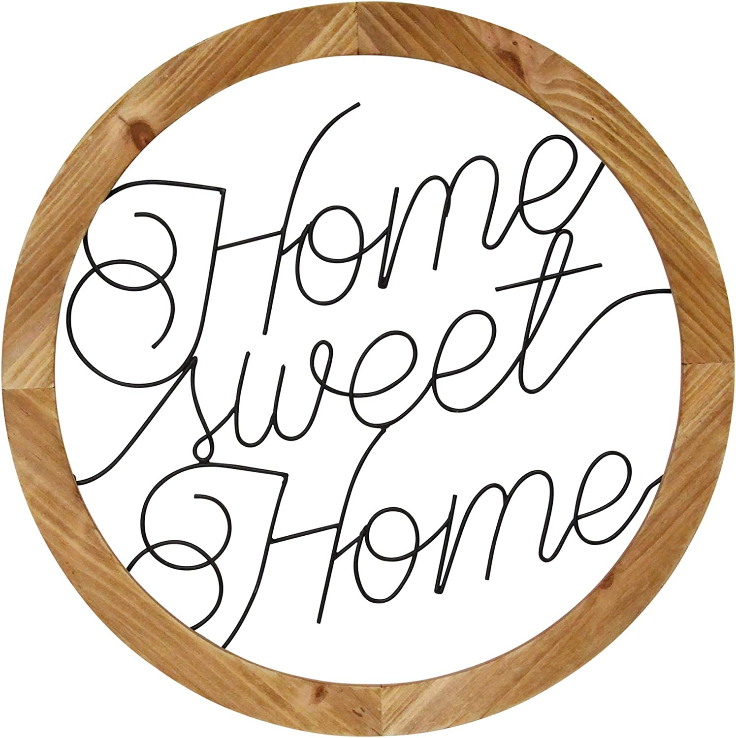 Stratton Home Décor Decor Wood Max 76% OFF Ranking TOP5 Metal Scr Sweet and