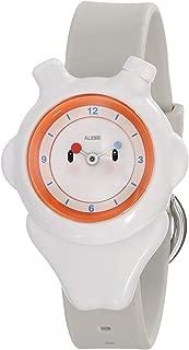 Kids' AL23001 Space-Bimba Polyurethane White Designed by Miriam Mirri Watch