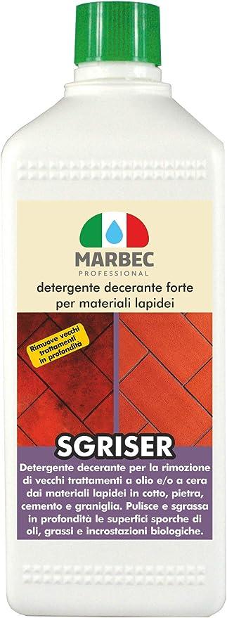 90 opinioni per Marbec- SGRISER 1LT   Detergente decerante Forte per Materiali lapidei