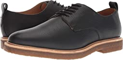 Pebbled Leather Derby w/ Crepe Sole