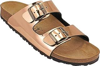 012-273 Biochic Ladies Sandals Metallic Gold