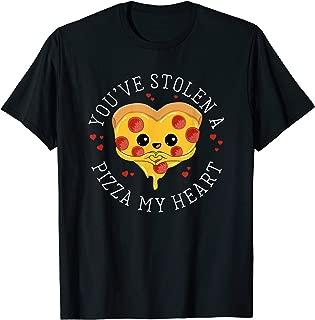 Best pizza heart shirt Reviews