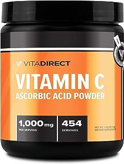 VitaDirect Vitamin C 1 Pound (Ascorbic Acid) Supplement 1LB