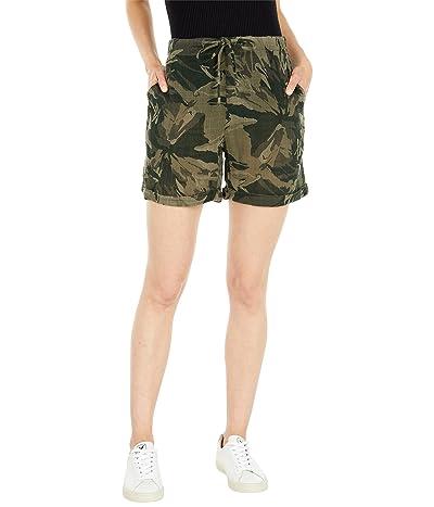 XCVI Wearables Printed Cotton Gauze Quincy Shorts
