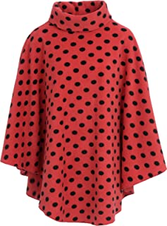 Amazon co uk: Red - Knitted Ponchos & Capes / Jumpers
