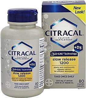 Calcium + Vitamin D Slow Release 80 Tabs