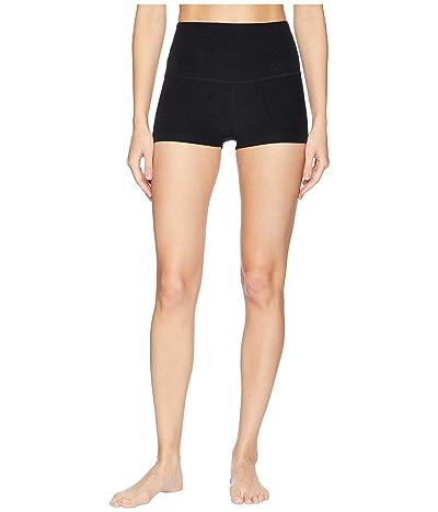 Beyond Yoga Spacedye Circuit High Waisted Shorts (Darkest Night) Women