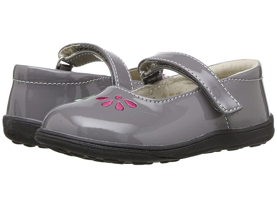 See Kai Run Kids Ginny (Toddler/Little Kid) (Gray Patent) Girl