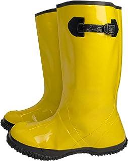 حذاء تروي سيفتي OVRSB فوق الحذاء، باللون الأصفر