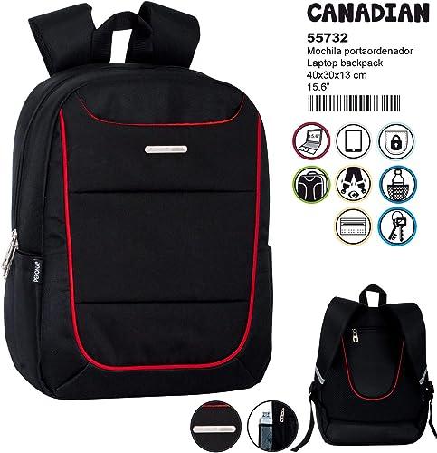Montichelvo Montichelvo sac à dos BS Lapt. Pr Canadian voituretable, 40 cm, MultiCouleure (Multicolour)