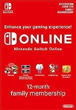 Nintendo Switch Online Membership - 12 Month Family Membership | Switch - Download Code