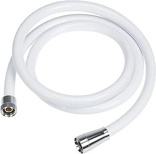 SANEI シャワーホース アダプター付き 長さ1.6m マットホワイト PS30-86TXA-MW