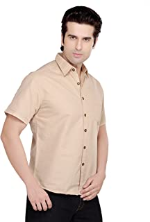 AFL Beige Plain Men's Shirt