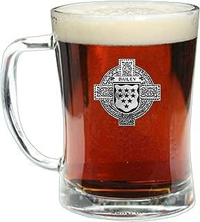 Bailey Irish Coat of Arms Badge Beer Mug Glass Tankard