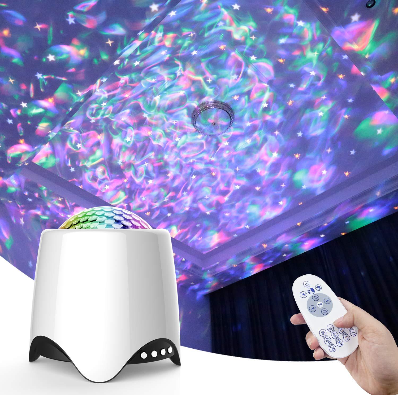 Baby Nursery Babies Living Room Night Light Star Projector Bedroom ...