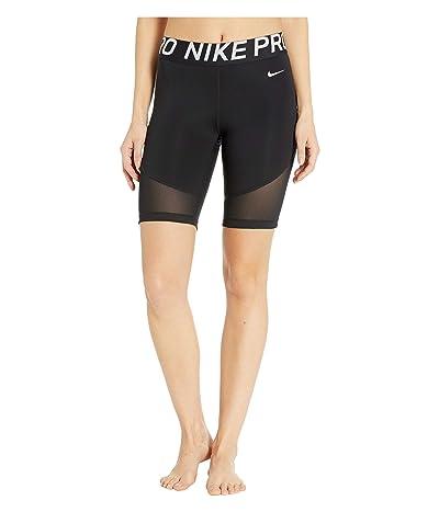 Nike Pro Shorts 8 (Black/White) Women