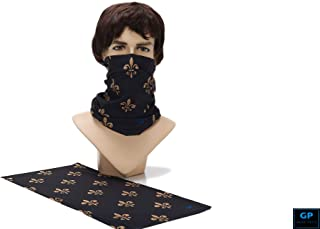 Gear Plus GP 1PC 16-in-1 Multi-Functional Seamless Head Bandana w/Eco-Friendly, UV Protection Material - for face mask, Biking, Parties, Festivals, Sporting Events, Yoga & etc.