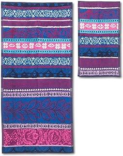 Desigual Desigual Mini & Hand Towel Pack Boho Jeans Stripes Hand and Mini Towel Pack